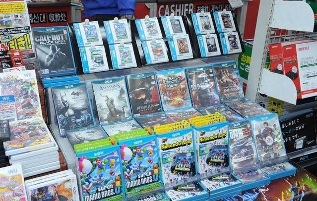 large Wii U säljer 308 570 enheter under den japanska releasen!