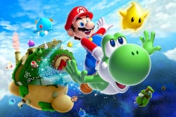 A new Super Mario Galaxy game to make a trilogy?