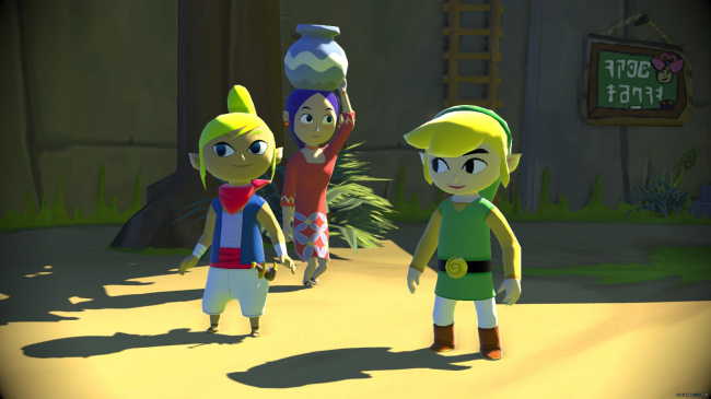 Windwaker HD Screen