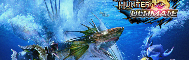 Monster Hunter 3- Ultimate Artwork
