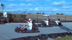 Mario Kart is a cruel game