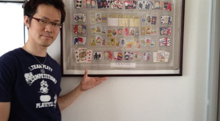 Yamazaki's home features many super-rare Nintendo items (click images to enlarge)