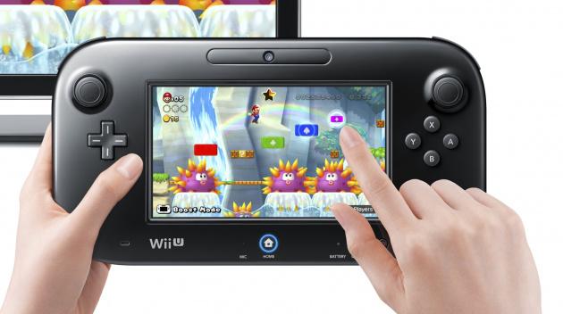 Wii U Game Pad Mario