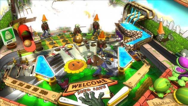 Zen Pinball 2- Plants vs. Zombies Table