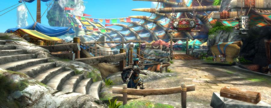 Monster Hunter 3 Ultimate Screen