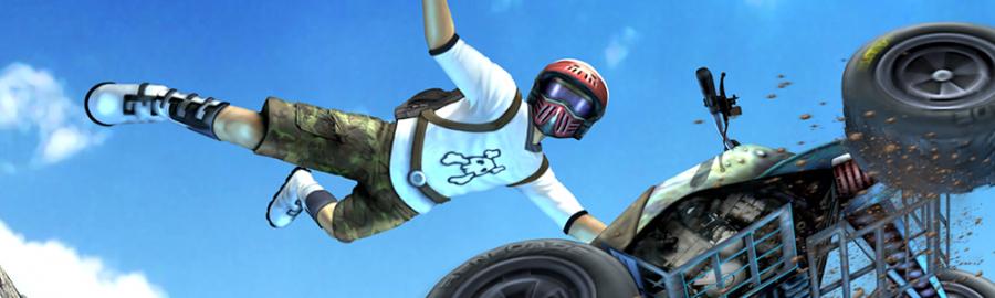 ATV Wild Ride 3 D Banner