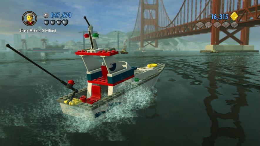 Lego Boat. Mov. Still003