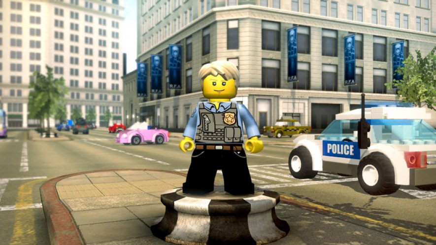 LEGO City Screen 2