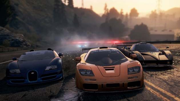 Need for Speed Most Wanted Screen
