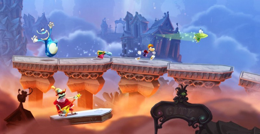 Rayman Legends Screen