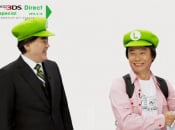 "Iwata and Miyamoto Perform Skit As The ""Luigi Brothers"""