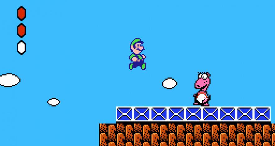 Mario Bros 2 Luigi
