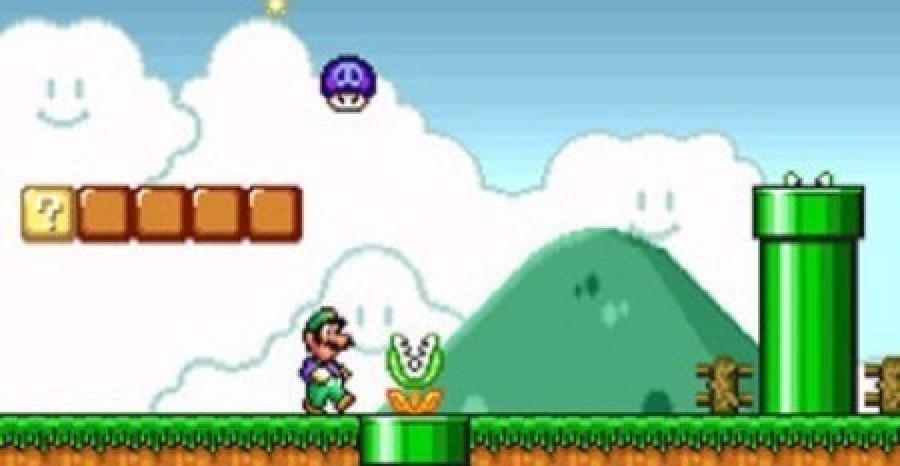 Super Mario All Stars Snes Luigi