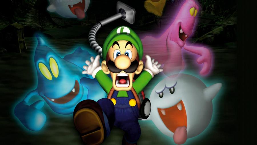 Luigi Mansion Hi Def