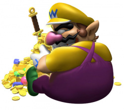Wario doesn't like dividends