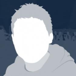 Blake Robinson, in silhouette