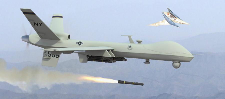 Predator Firing Missile4