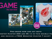 Preorder Both Monster Hunter 3 Ultimate Versions At GAME, Get A Free T-Shirt