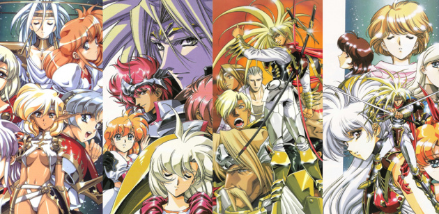 Satoshi Urushihara's sumptious artwork has been a hallmark of the Langrisser franchise