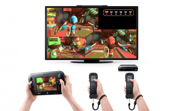 Nintendo Land Zelda Multiplayer