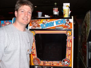 Steve Wiebe (Image credit: http://www.classicarcadegaming.com)