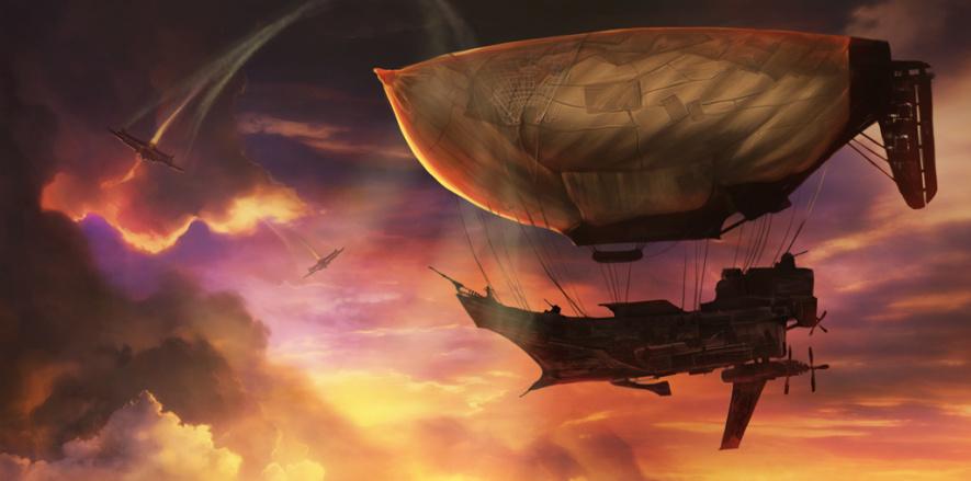 Guns of Icarus Online Multiplayer Air Combat Debut Trailer Adonismens