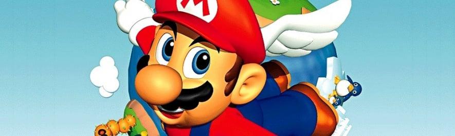 Super Mario 64 Banner