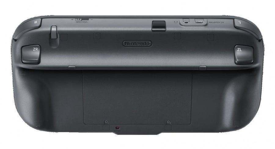 Wii U- Gamepad Back