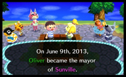 Bully for you, Oliver