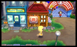 The retail district is packed with shops