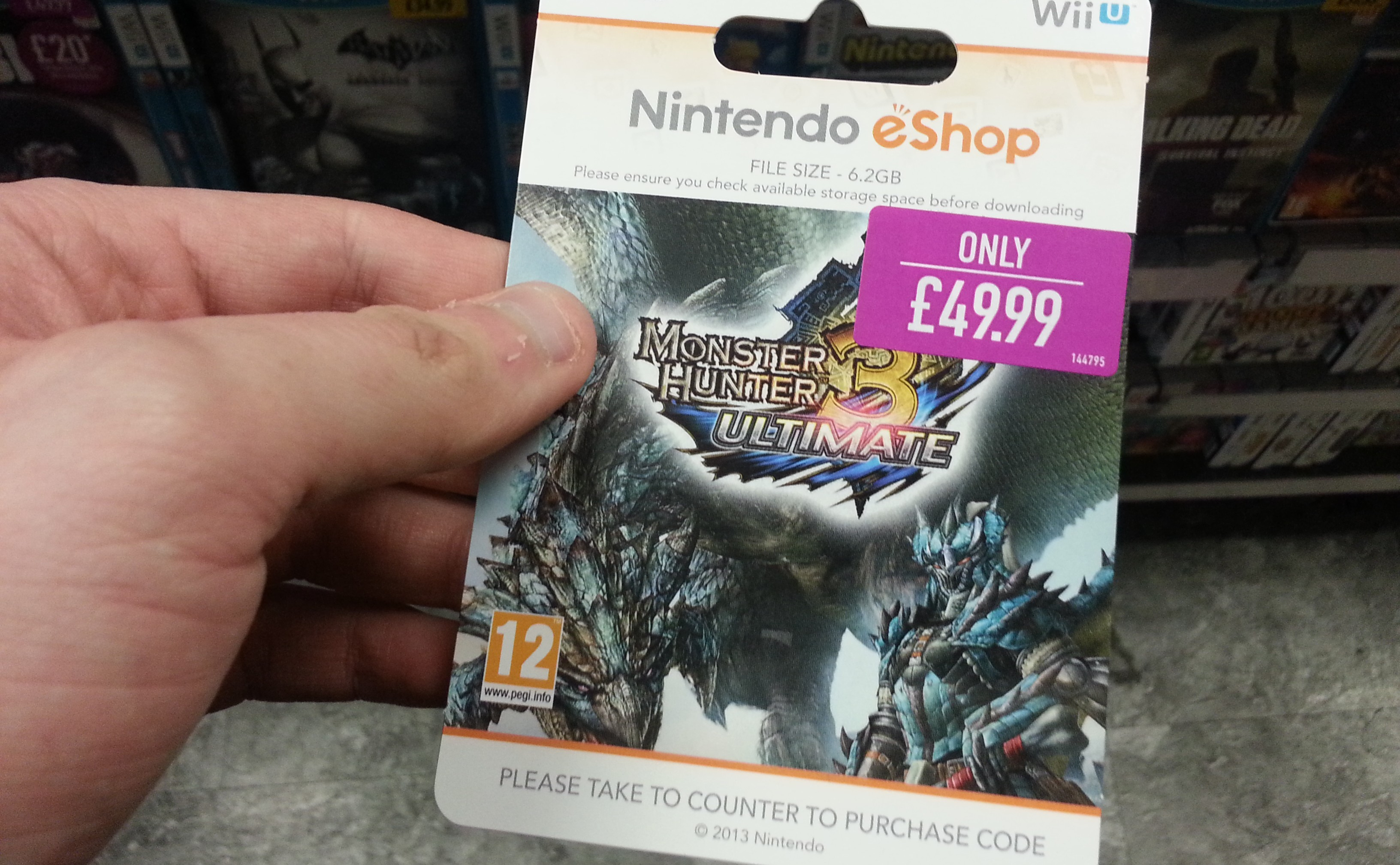 GAME Bags European Exclusive On EShop Download Codes Nintendo Life - Free blank invoice template nintendo online store