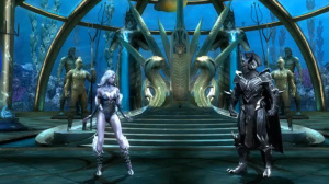 Killer Frost and Ares are also playable in the game