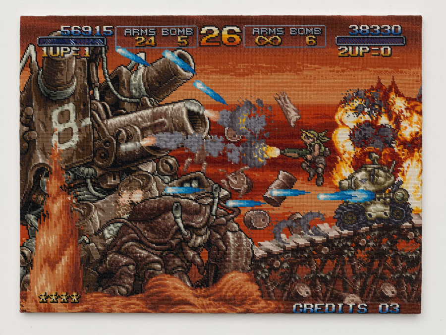 Per Fhager - Metal Slug 3 - Courtesy Stene Projects Stockholm