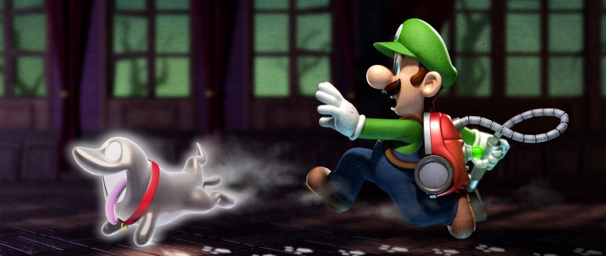 Luigis Mansion Art 2