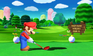 Mario Golf: World Tour will be available this Summer