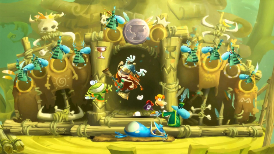 Rayman Legends Toad Screen
