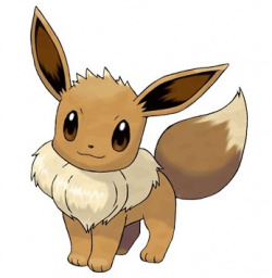 Could it be Eevee, or one of its Eeveelutions?