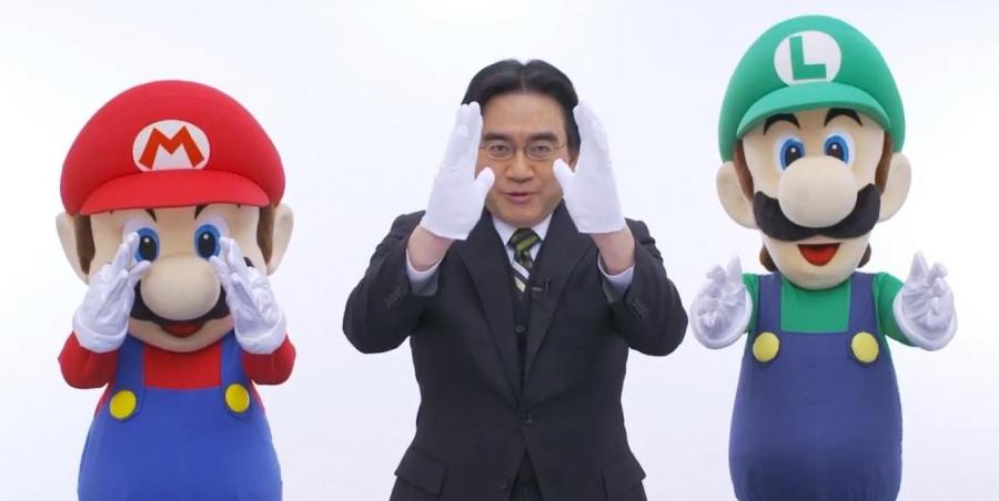 Luigi needs to practice his Direct gesture