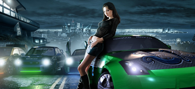 Wallpaper Need for Speed Underground 2 Wallpaper 1600 X1200