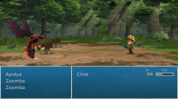Evoland borrows certain elements from Final Fantasy