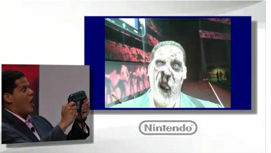 Wii U E3 Reggiezombiu