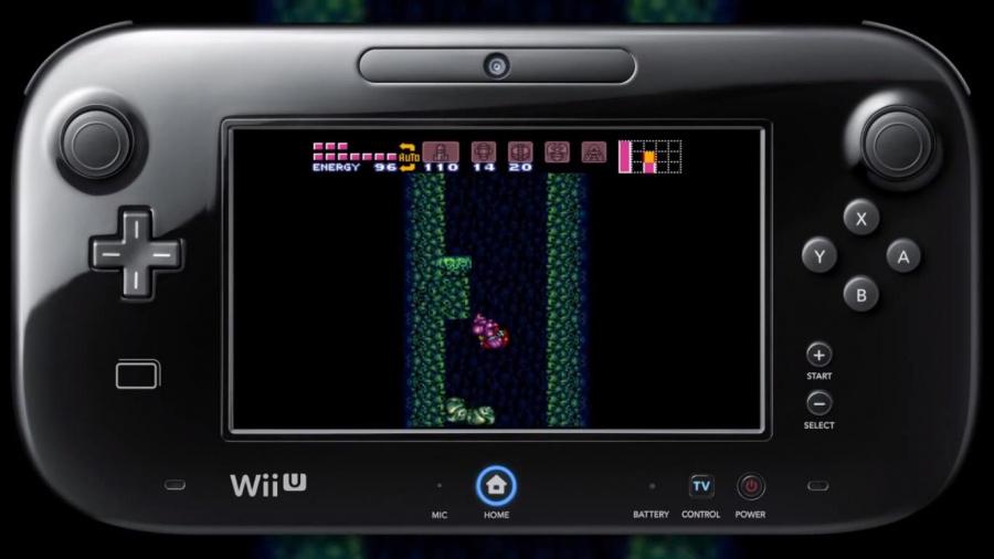 Wii U Virtual Console Super Metroid