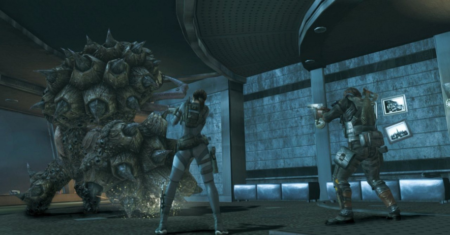 Resident Evil Revelations Screen