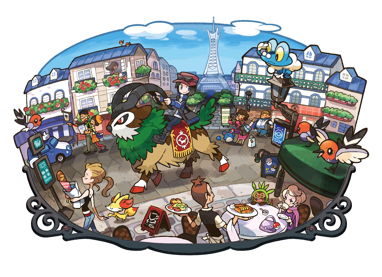 Pokemon lumiose city clothes store