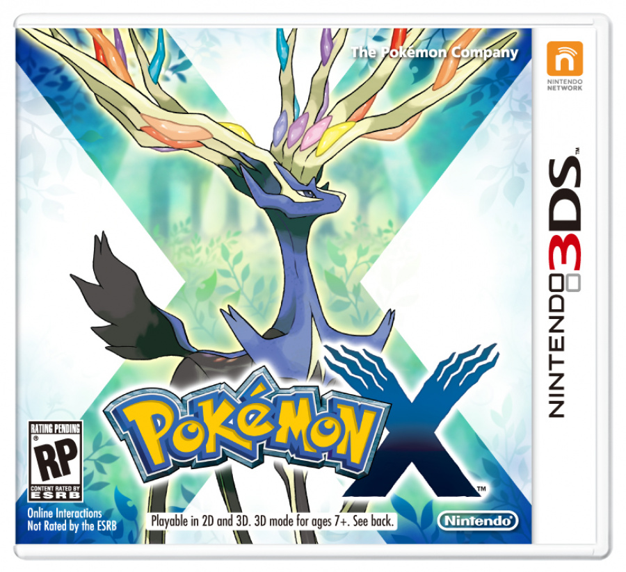 PokéMon X Front Packaging