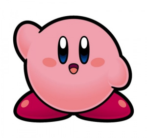 Kirby says hi