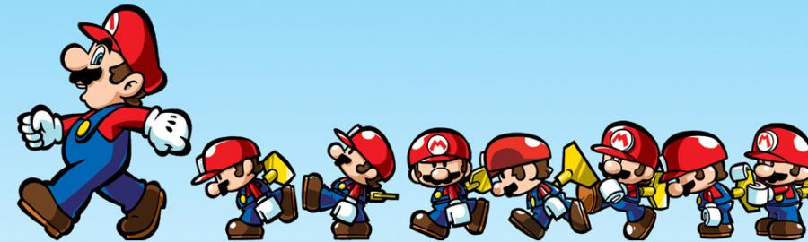 Mario and Donkey Kong Banner