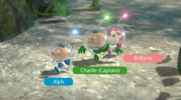 Pikmin3 Characters
