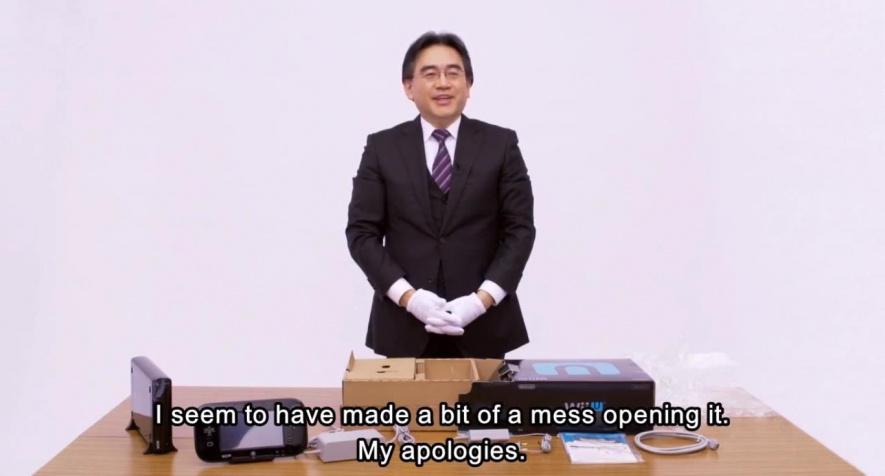 Iwata Wii U Unboxing