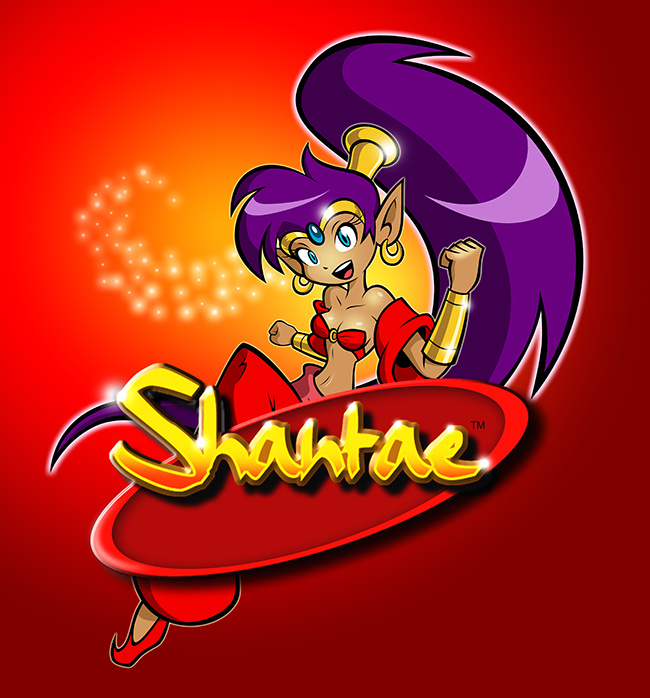 News Style Logo Collection: Shantae 3DS Virtual Console Release Confirmed For 20th